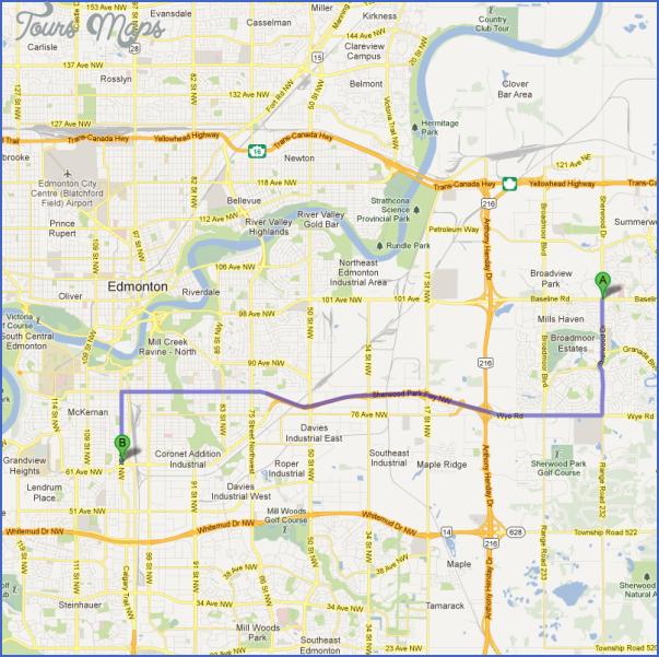 sherwood park map 7 SHERWOOD PARK MAP