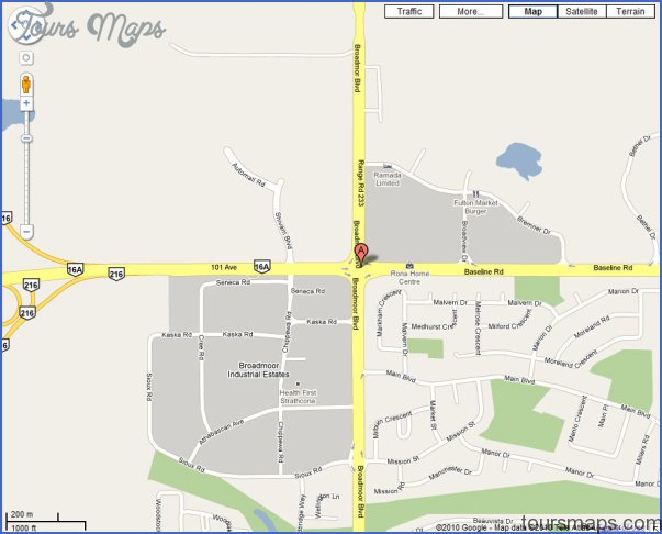 Strathcona County Subdivision Maps strathcona county map of subdivisions Archives   ToursMaps.®