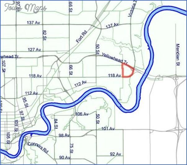 victoria trail edmonton map 1 Victoria trail Edmonton Map