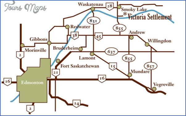 victoria trail edmonton map 5 Victoria trail Edmonton Map