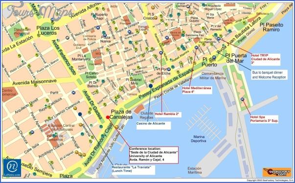 alicante map 4 ALICANTE MAP