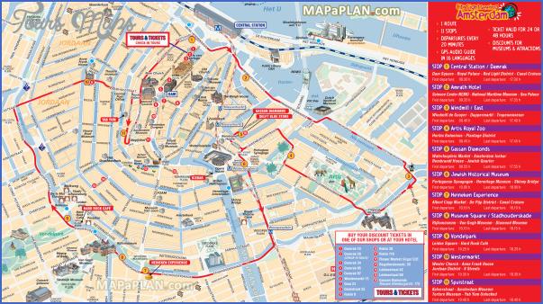 amsterdam map tourist attractions 2 Amsterdam Map Tourist Attractions