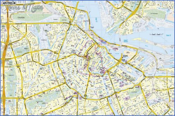amsterdam map 1 Amsterdam Map