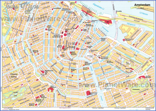 amsterdam map 2 Amsterdam Map