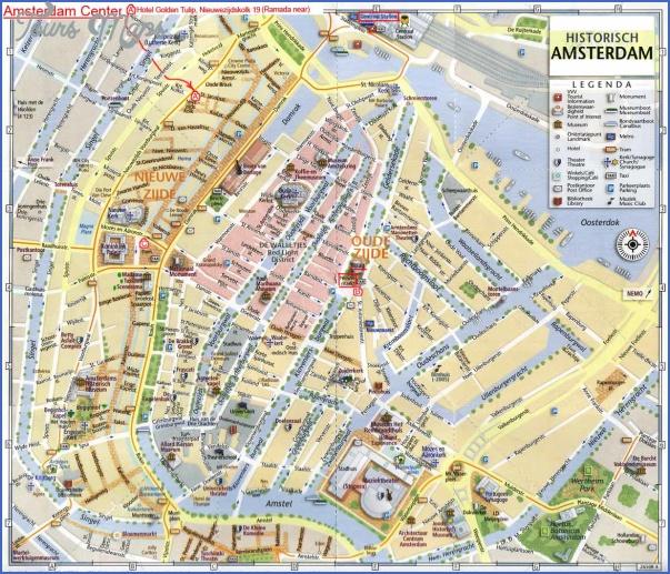 amsterdam map 3 Amsterdam Map