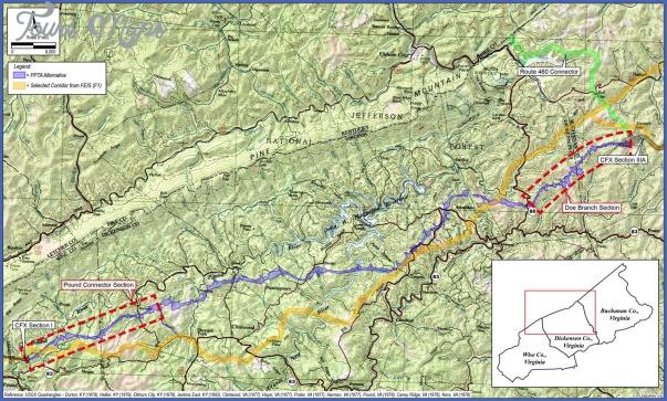 appalachian trail map virginia 13 APPALACHIAN TRAIL MAP VIRGINIA