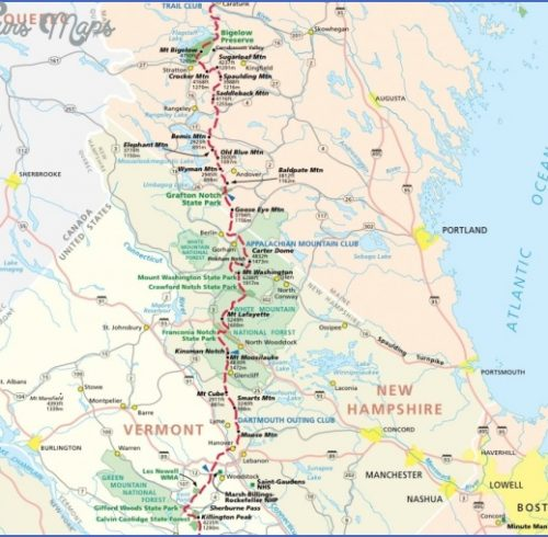 appalachian trail mileage map adriftskateshop