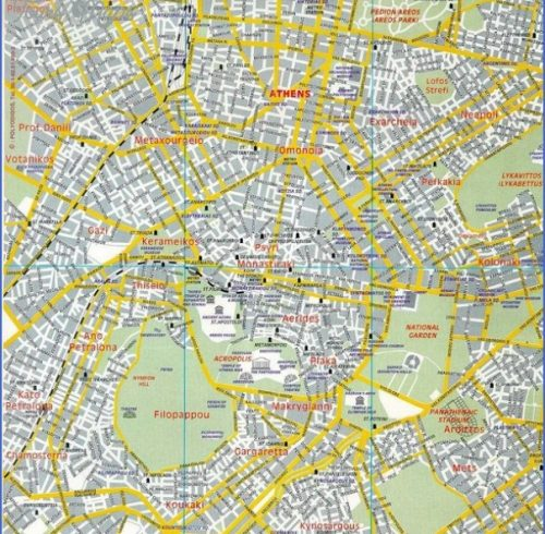 athens tourist map pdf Archives ToursMapsCom – Rome Tourist Map PDF