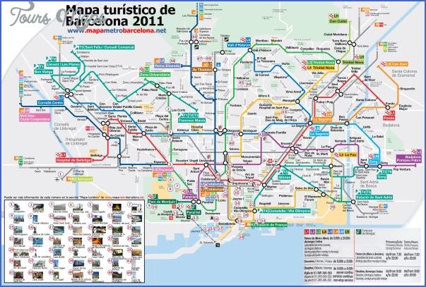 barcelona map 7 Barcelona Map