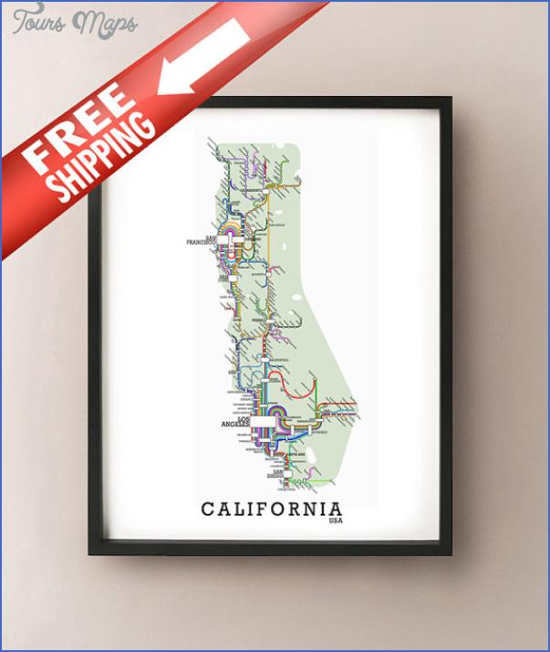 california subway map 11 California Subway Map