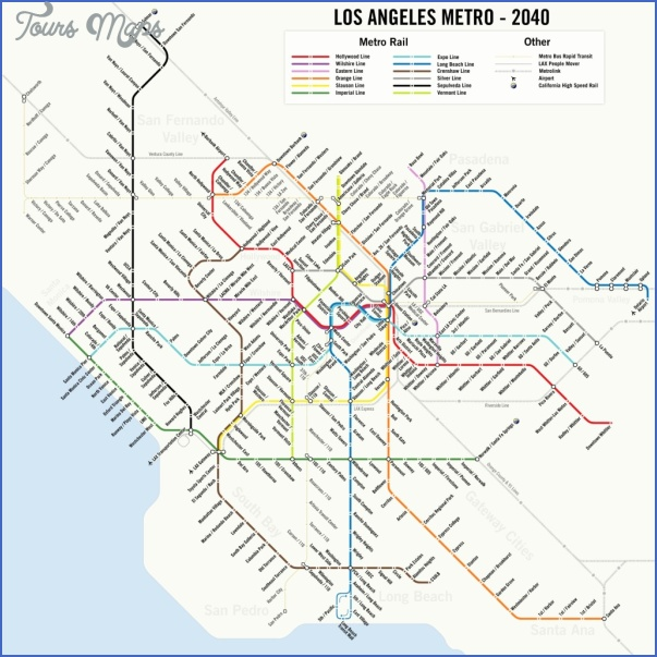california subway map 3 California Subway Map