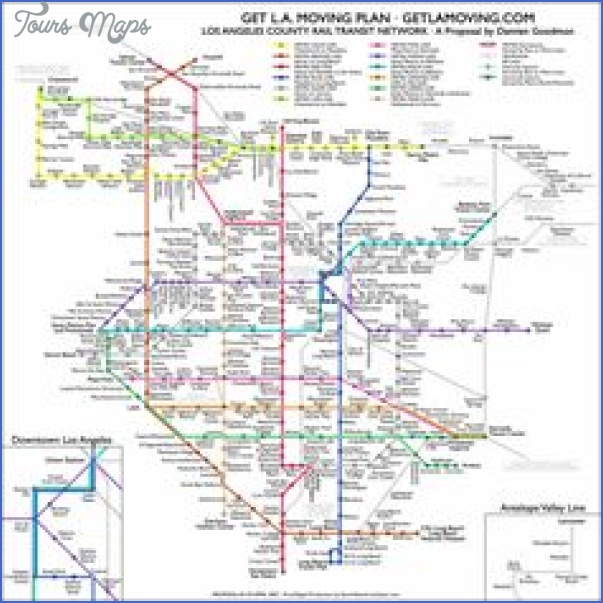 California Subway Map   ToursMaps.®