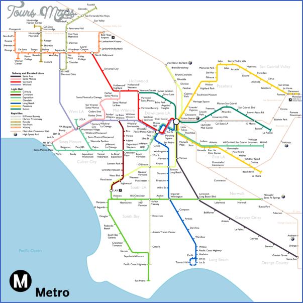 california subway map 7 California Subway Map