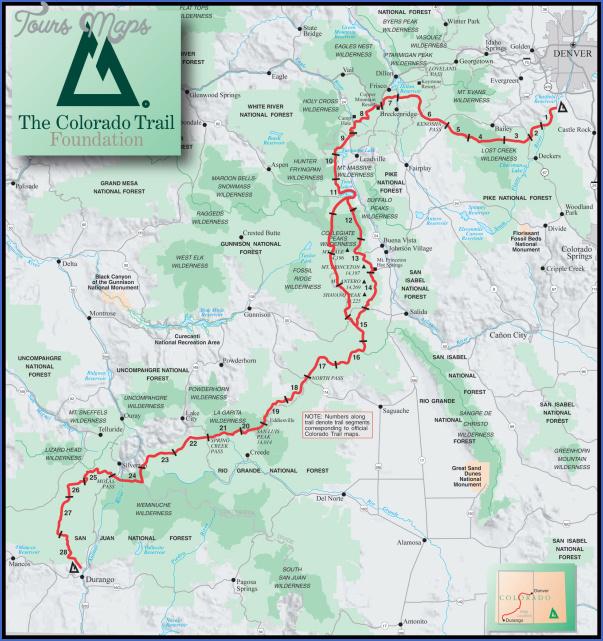 colorado trail 8 COLORADO TRAIL