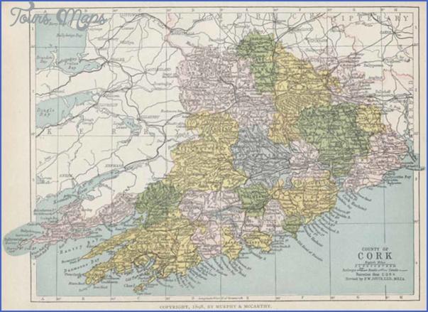cork map 5 Cork Map