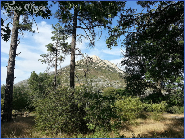 Cuyamaca Rancho State Park Map California Toursmaps Com