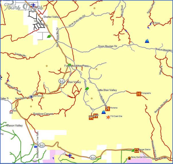 desert trail map california 0 DESERT TRAIL MAP CALIFORNIA