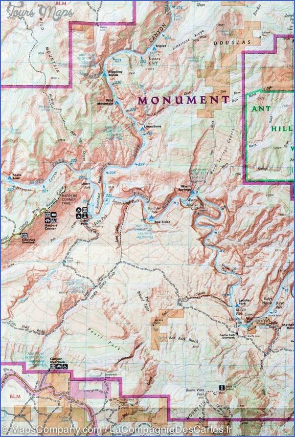 dinosaur national monument map utah 16 DINOSAUR NATIONAL MONUMENT MAP UTAH