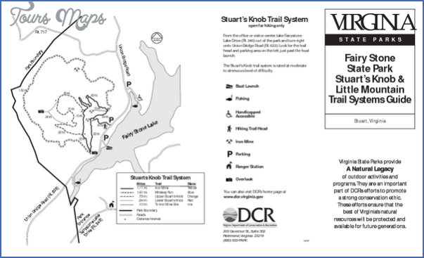 fairy stone state park map virginia 0 FAIRY STONE STATE PARK MAP VIRGINIA