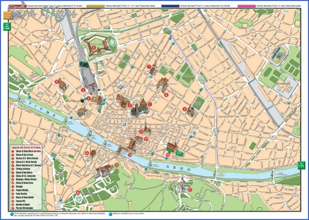 florence map tourist attractions 1 Florence Map Tourist Attractions
