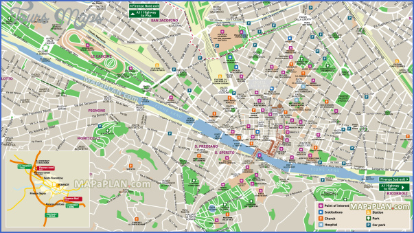 florence map tourist attractions 6 Florence Map Tourist Attractions