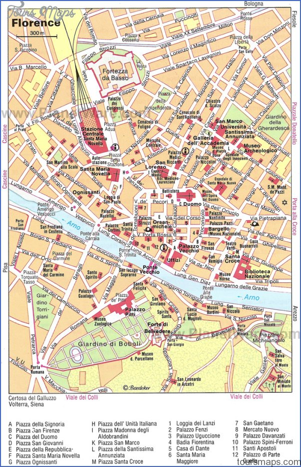 florence map 15 Florence Map
