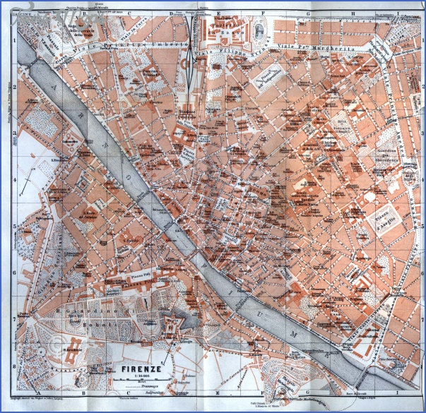 florence map 18 Florence Map