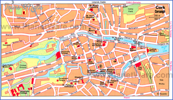 galway map tourist attractions 6 Galway Map Tourist Attractions
