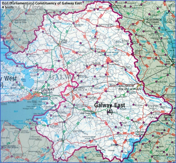 galway map 2 Galway Map