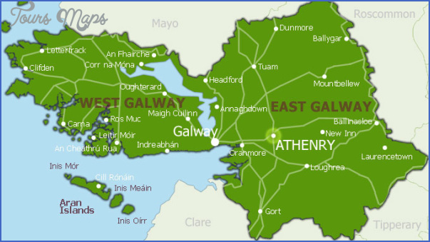 galway map 4 Galway Map