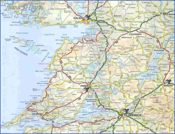 galway map 5 Galway Map