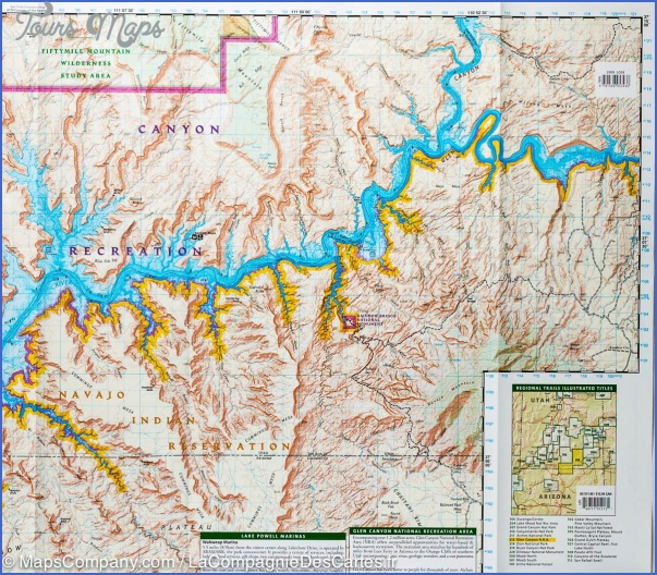 GLEN CANYON NATIONAL RECREATION AREA MAP UTAH_2.jpg
