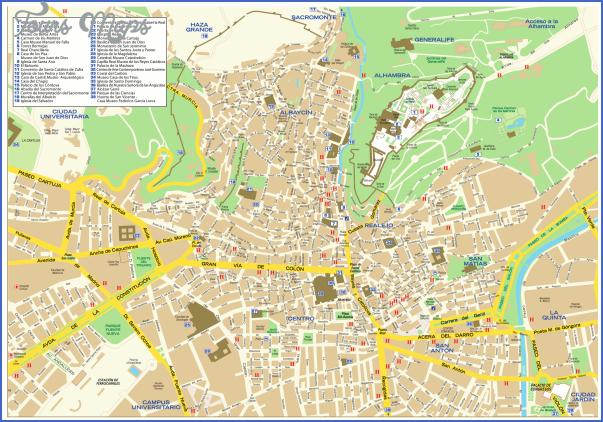granada map 3 Granada Map