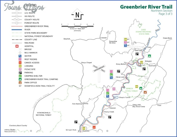 greenbrier river trail map west virginia 5 GREENBRIER RIVER TRAIL MAP WEST VIRGINIA