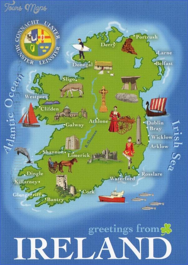 ireland map 7 Ireland Map