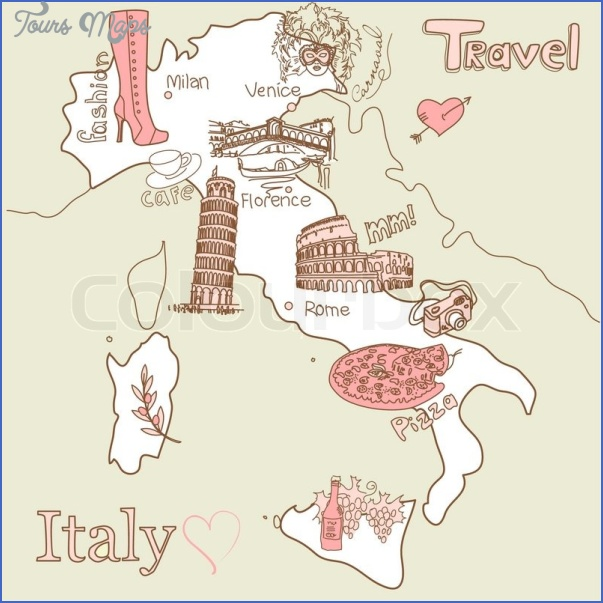 italy map tourist attractions 5 Italy Map Tourist Attractions