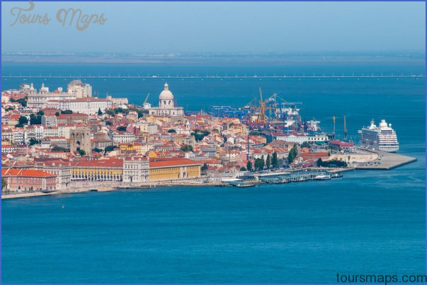 Lisbon Map Tourist Attractions ToursMapsCom – Lisbon Tourist Map Printable