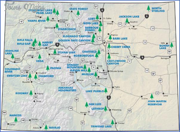 LORY STATE PARK MAP COLORADO   ToursMaps.®