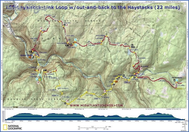 loyalsock trail map pennsylvania 5 LOYALSOCK TRAIL MAP PENNSYLVANIA