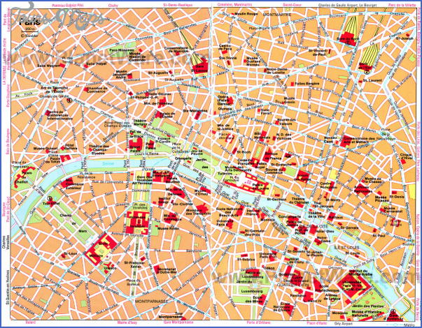 luxembourg map tourist attractions 4 Luxembourg Map Tourist Attractions