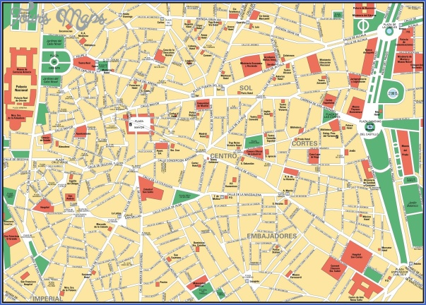 madrid map 4 Madrid Map