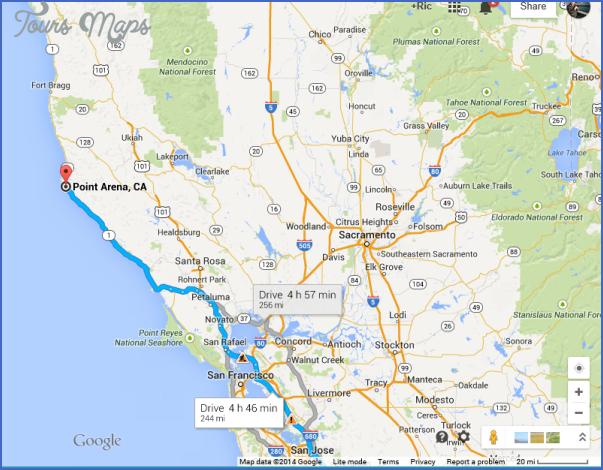 Mendocino National Forest Map California Toursmaps Com