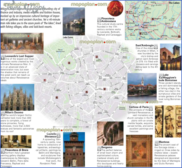 milan map tourist attractions 12 Milan Map Tourist Attractions