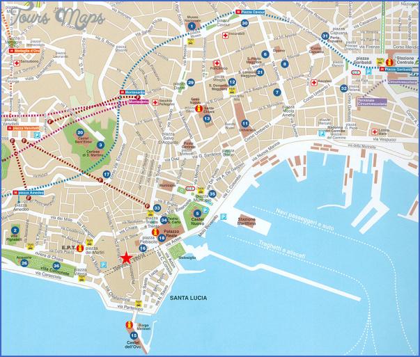 naples map 3 Naples Map