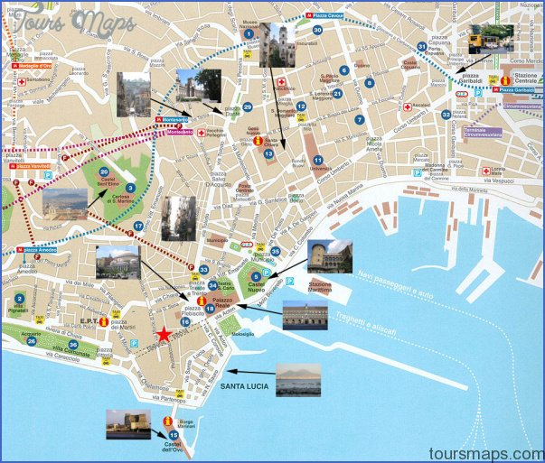 Naples Map  Map  Travel  Holiday  Vacations