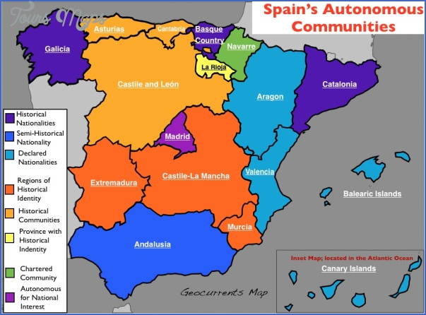 northeast spain map 3 NORTHEAST SPAIN MAP