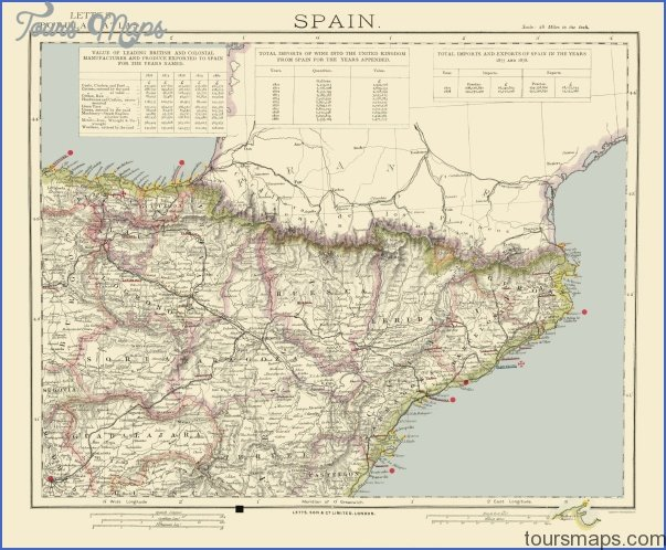 Coast Of Spain Map.East Coast Spain Resorts Archives Toursmaps Com