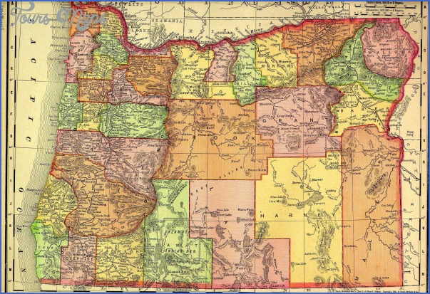 oregon map 5 Oregon Map