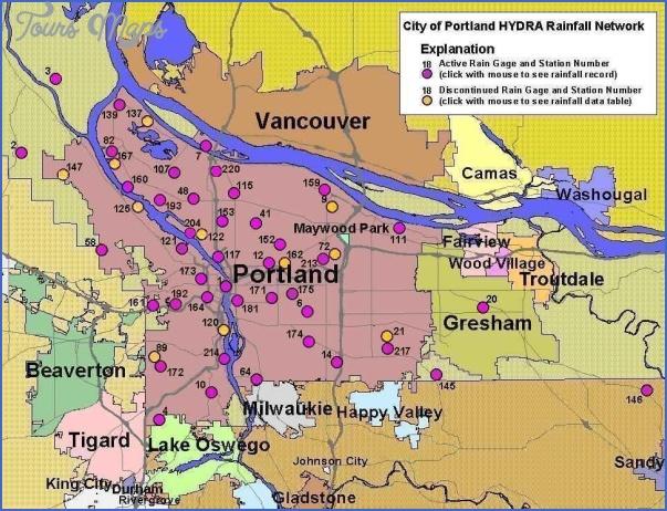 oregon subway map 7 Oregon Subway Map