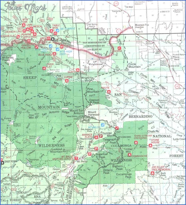 National Forests In California Map.Plumas National Forest Map California Toursmaps Com